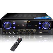 先科 SA-8001B 专业大功率AV功放机5.1家用电视音响放大器 (黑色)