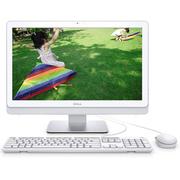 戴尔 Inspiron3263-R5208W灵越纤薄一体机电脑(G4405U 4G 500GB 键鼠 Win10 白)21.5英寸