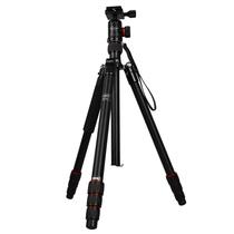 富图宝 X-5i 三脚架铝合金 反折 便携套装 旅行单反相机 专业三脚架产品图片主图