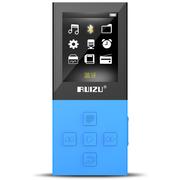 锐族 X18 蓝色运动MP3 无线蓝牙 HIFI无损音乐播放器有屏迷你