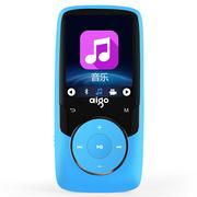爱国者 数码播放器 MP3-102 运动蓝牙可扩展便携迷你高音质MP3音乐播放器 蓝色