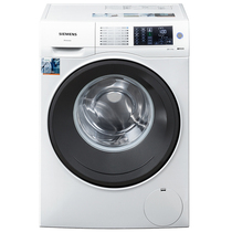 西门子  WS12U4600W 6.5公斤 变频 滚筒洗衣机 除菌 防过敏 全屏触摸 加速洗 节能洗(白色)产品图片主图