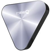芒果tv 芒果嗨Q H5 全新金属风格 H.265真4K 高清网络电视机顶盒子 智能安卓播放器