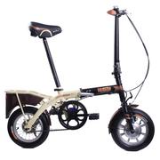 堡森 Instone硬石头智能自行车36V锂电折叠车12寸成人特制钢架休闲通勤代步代驾便携式单车