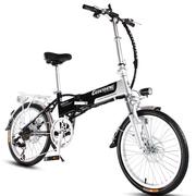 哥得圣 电动自行车成人轻便携迷你可折叠锂电池电动滑板车48V电瓶车代步助力变速男女士电单车 16寸20寸旗舰版48V付款需留言尺寸和颜色