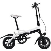 缦翎 电动折叠自行车铝合金迷你便携电瓶车代驾代步锂电池电动车