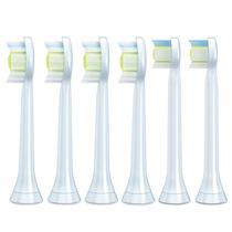飞利浦 HX6066/05钻石亮白型声波震动牙刷头标准型6支装适用牙刷HX9362HX9322HX9332产品图片主图