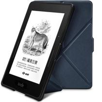 柏图 适配Kindle 1499版保护套/壳 Kindle Voyage 航行专用休眠皮套 折叠支架系列 湛蓝色产品图片主图