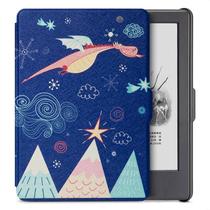 柏图 适配Kindle 558版保护套/壳 彩绘系列 全新Kindle电子书休眠皮套 萌逗飞龙产品图片主图