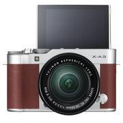 富士 X-A3 XC16-50mm 棕褐色 微单电套机 2420万像素 3.0英寸180度多点触摸屏 WIFI遥控 USB充电