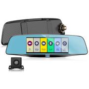 捷渡 D680S 双镜头前后双录高清行车记录仪 6.5英寸宽屏 一键流媒体后视 ADAS预警