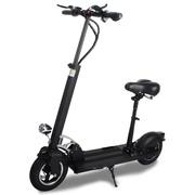阿尔郎 电动滑板车成人代驾折叠电动车 黑色-豪华版(续航35-50KM)带座椅款