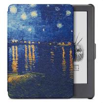 柏图 适配Kindle 558版保护套/壳 彩绘系列 全新Kindle电子书休眠皮套 梵高星夜产品图片主图