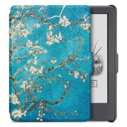 柏图 适配Kindle 558版保护套/壳 彩绘系列 全新Kindle电子书休眠皮套 梵高杏花