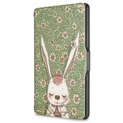 柏图 适配Kindle 558版保护套/壳 彩绘系列 全新Kindle电子书休眠皮套 丛林萌兔