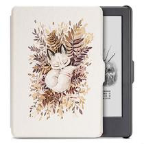 柏图 适配Kindle 558版保护套/壳 彩绘系列 全新Kindle电子书休眠皮套 丛林睡狐产品图片主图