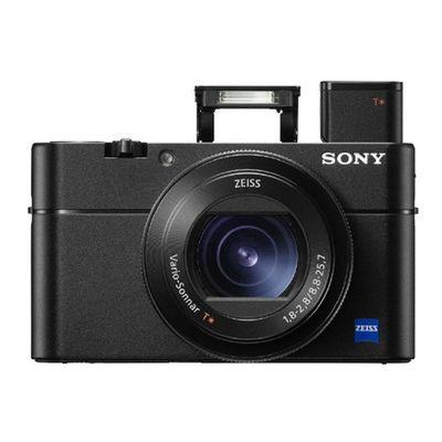 索尼 DSC-RX100 M5 黑卡数码相机 等效24-70mm F1.8-2.8蔡司镜头(WIFI/NFC)产品图片1