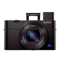 索尼 DSC-RX100 M3 黑卡 RX100 Ⅲ 数码相机 黑色(2010万像素 3英寸液晶屏 2.9倍光学变焦 Wifi传输) 产品图片主图