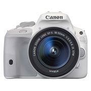 佳能 EOS 100D 单反套机 白色(EF-S 18-55mm f/3.5-5.6 IS STM 镜头)