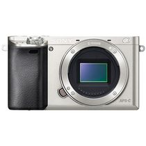 索尼 a6000/ILCE-6000单机身 银色产品图片主图