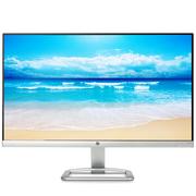 惠普 24EA 23.8英寸6.3mm纤薄 IPS FHD 178度广可视角度 窄边框 LED背光液晶显示器(典雅白内置音箱)