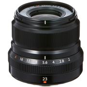 富士 XF23mm F2 R WR 黑色 标准定焦镜头 经典人文街拍 防滴防尘 安静快速步进马达