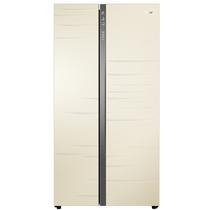 海尔 BCD-575WDGOU1 575升变频风冷无霜对开门冰箱 双变频高保湿抽屉双重杀菌系统新国标一级 米黄色产品图片主图