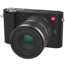小蚁 微单相机双镜套装黑色 型号M1 双镜头12-40mmF3.5-5.6, 42.5mmF1.8套装 可换镜头式智能相机产品图片主图