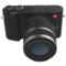 小蚁 微单相机双镜套装黑色 型号M1 双镜头12-40mmF3.5-5.6, 42.5mmF1.8套装 可换镜头式智能相机产品图片4