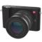 小蚁 微单相机单镜头套装黑色 型号M1 标准变焦12-40mmF3.5-6.6镜头套装 可换镜头式智能相机产品图片1