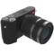 小蚁 微单相机单镜头套装黑色 型号M1 标准变焦12-40mmF3.5-6.6镜头套装 可换镜头式智能相机产品图片2