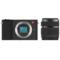 小蚁 微单相机单镜头套装黑色 型号M1 标准变焦12-40mmF3.5-6.6镜头套装 可换镜头式智能相机产品图片3