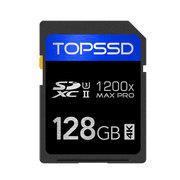 天硕 UHS-II SDXC MAX Pro系列 1200X(128GB)