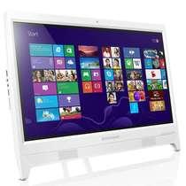 联想  C2000 一体机电脑(N3050 2G 500G win10)19.5英寸 白色产品图片主图