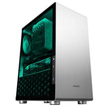 乔思伯 U4 银色 ATX机箱 (支持ATX主板/高塔散热器/ATX电源/全铝外壳/5MM厚度钢化玻璃侧板)产品图片主图