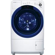 夏普  XQG70-6745W-A 7公斤 变频大口径斜式滚筒洗衣机 向日葵镜面洗净