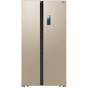 美菱 BCD-608WPCX 608升 变频保鲜 风冷无霜 节能静音 时尚对开门冰箱(金)