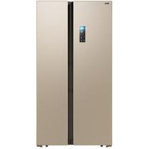 美菱 BCD-608WPCX 608升 变频保鲜 风冷无霜 节能静音 时尚对开门冰箱(金)产品图片主图