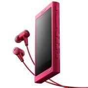 索尼 NW-A35HN Hi-Res高解析度无损降噪音乐播放器mp3/mp4 含耳机(波尔多红)