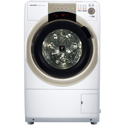 夏普  XQG70-8755W-N 7公斤 变频斜式滚筒洗衣机 洗烘一体 杀菌 向日葵洗