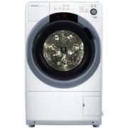 夏普  XQG70-6745W-H 7公斤变频大口径斜式滚筒洗衣机 向日葵镜面洗净