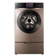 美的 MD120-1617WIDQCG 12公斤变频洗烘一体滚筒洗衣机(玫瑰金) 智能APP控制 ATC全时净态