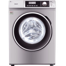 三洋 WF810320BS0S 8公斤变频滚筒洗衣机 57°斜面板 中途添衣 桶自洁(浅咖亚银)产品图片主图