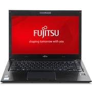 富士通 U536 13.3英寸轻薄商务笔记本电脑(i3-6100U 4G 128GSSD 铝合金 指纹识别 10小时续航)黑色