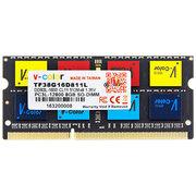 全何  低电压版 DDR3  1600 8GB 笔记本内存 彩条