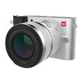 小蚁 微单相机标准变焦镜头套装银色 型号M1 标准变焦12-40mmF3.5-5.6镜头套装 可换镜头式智能相机