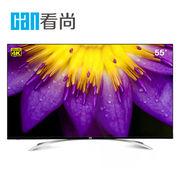 看尚 F55 55英寸 4K超清网络智能平板电视 配底座