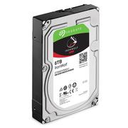 希捷 酷狼系列 6TB 7200转128M SATA3 网络储存(NAS)硬盘(ST6000VN0041)