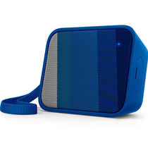 飞利浦 BT110A 无线蓝牙音箱 便携迷你音乐魔方 兼容苹果/三星手机/电脑小音响 免提通话 蓝色产品图片主图