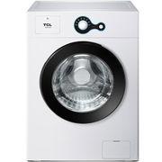 TCL XQG80-Q300 8公斤 滚筒洗衣机 一键便捷 中途添衣(芭蕾白)